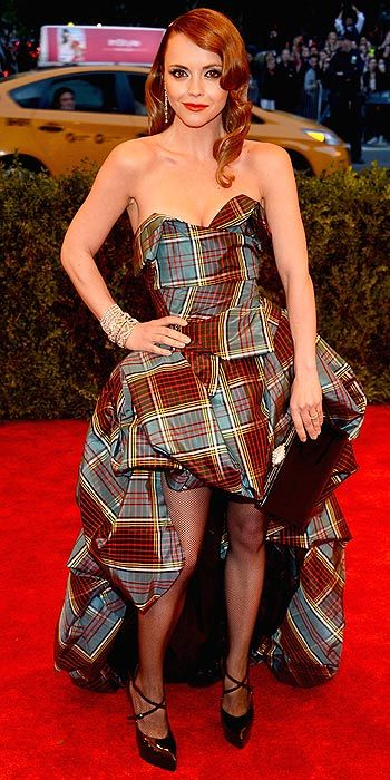 Christina Ricci in Vivienne Westwood