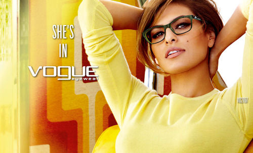 Vogue Eyewear's spring collection