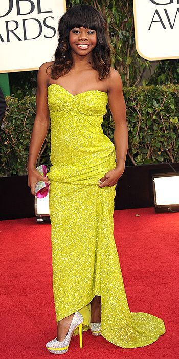 """Gabby Douglas' """"too grown up"""" look was also a complete miss"""
