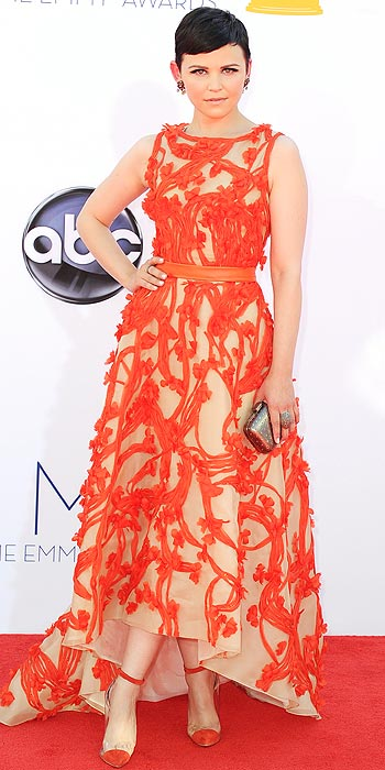2012 Emmy Awards Worst Dressed - Ginnifer Goodwin in Moniqur Lhuillier