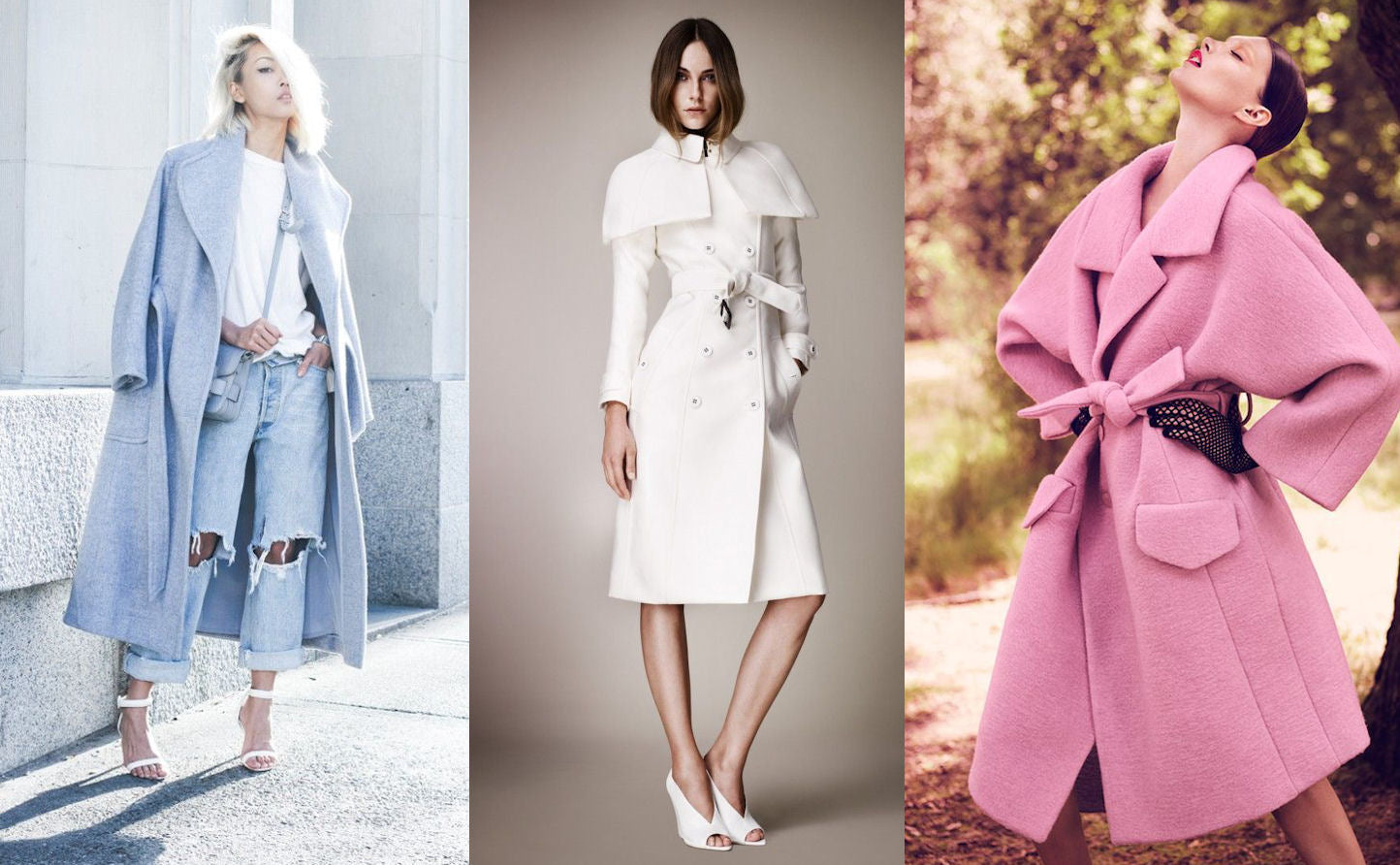 Go Light - Pastel Colored Coats