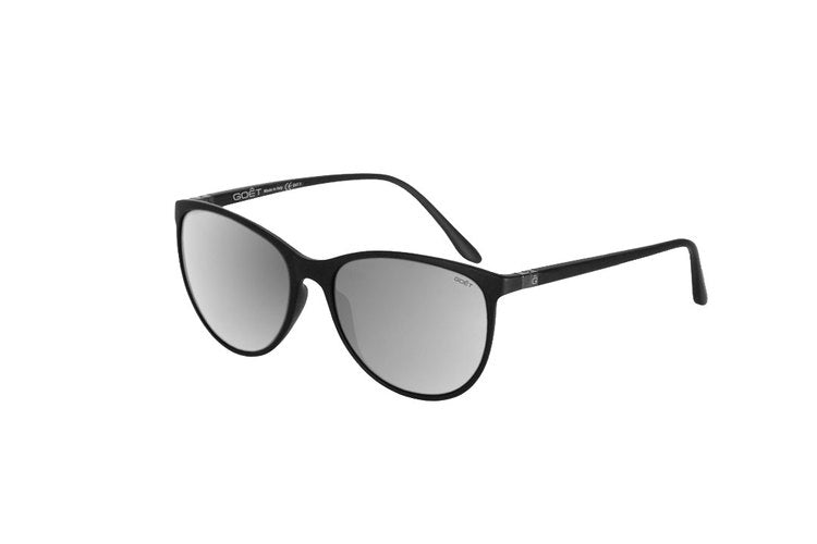 Goêt Cat Eyes Silver Sunglasses | Side View
