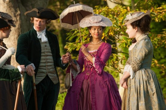 Gugu Mbatha-Raw is elegant, fiery and vulnerable as Dido Belle