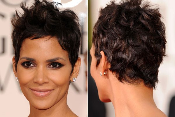 Halle Berry's famous pixie. The actress has often spoken about how going short kicked her acting career into high gear.