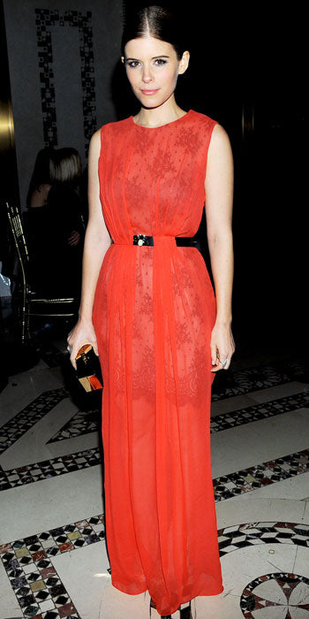 Kate Mara was a stunning lady in red Jason Wu