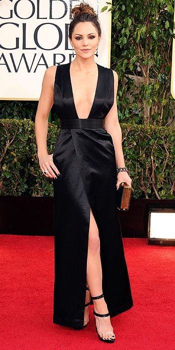 2013 Golden Globes - Katherine McPhee in Oliver Theyskens' Theory