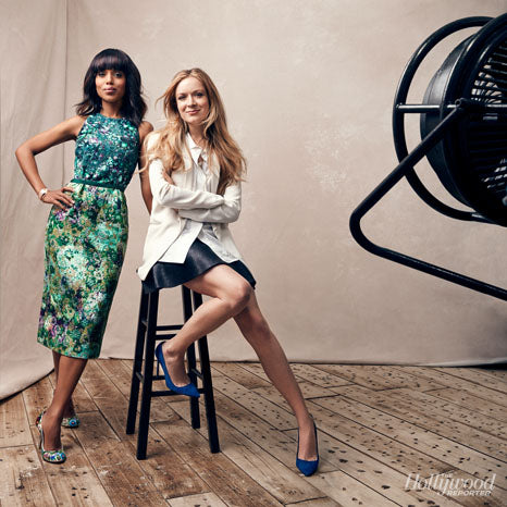 Kerry Washington and Stylist Erin Walsh
