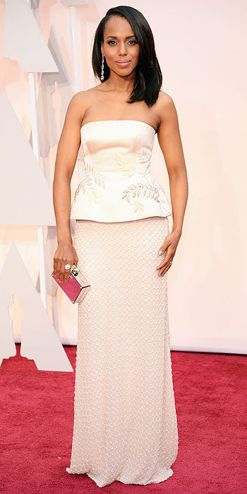 2013 Golden Globes - Kerry Washington in Miu Miu
