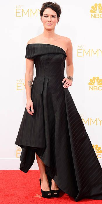 2012 Emmy Awards Worst Dressed - Lena Heady