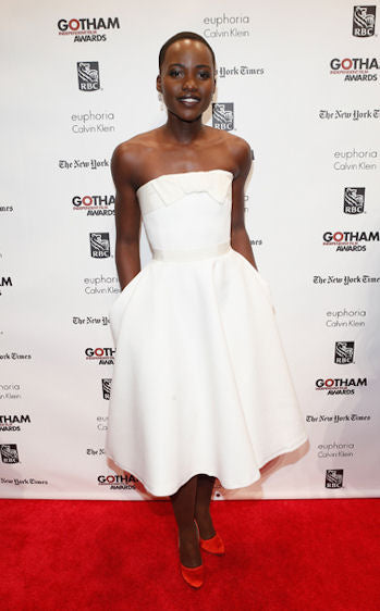 Sporting Lanvin at the Gotham Independent Film Awards.