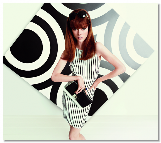 Coco Rocha for Banana Republic