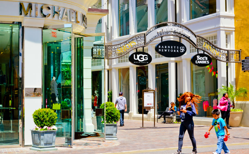 Chic Street Shopping Tours - The Mall Tour