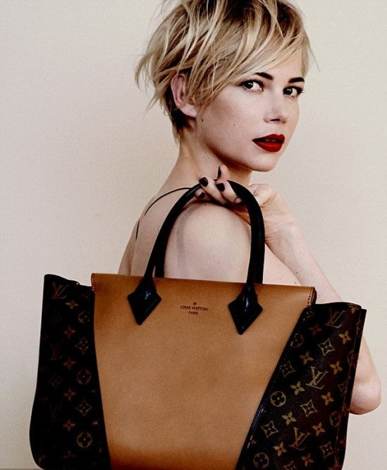 Michelle Williams shoes off Louis Vuitton's latest fall / autumn offerings