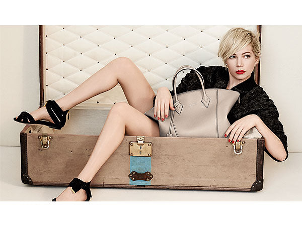 Michelle Williams steps out of the box for Louis Vuitton