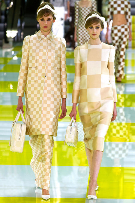 Model Jemma Baines in Louis Vuitton's Spring 2013 RTW Show