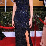 Nicole Kidman in navy blue Vivienne Westwood Couture