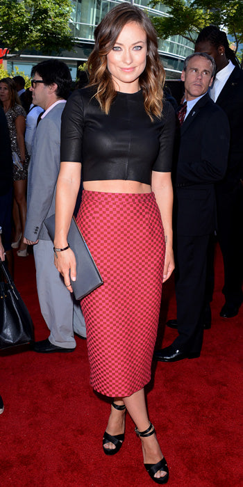 Olivia Wilde recently bared her midriff in A.L.C. separates at the ESPY Awards
