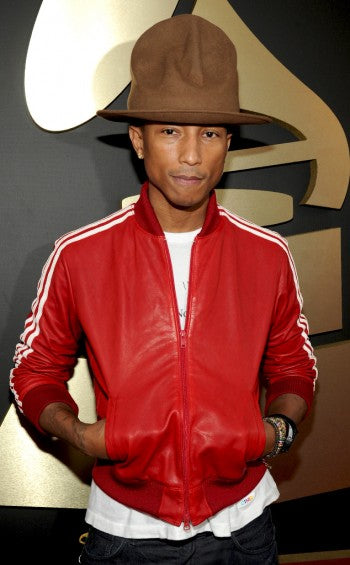 Pharrell and that hat the Grammys
