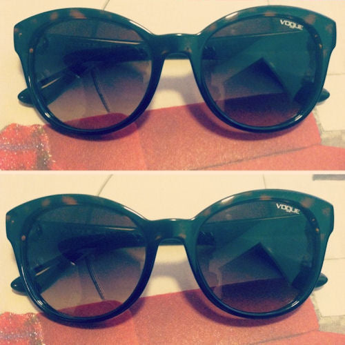 Left the party with these gorgeous retro-inspired pair of sunglasses which are oh-so-perfect for spring