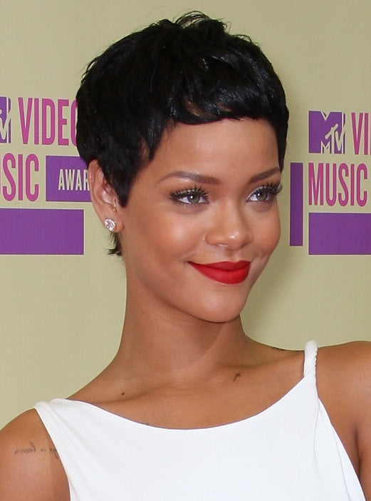 As did Rihanna's chic pixie.