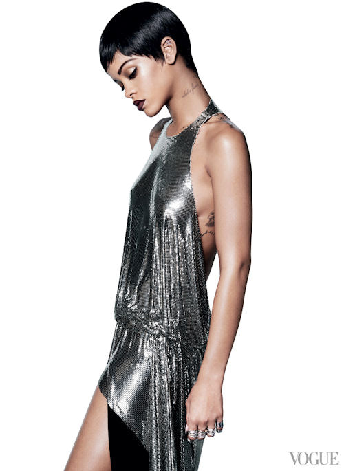 Sleek and slinky - Rihanna for Vogue