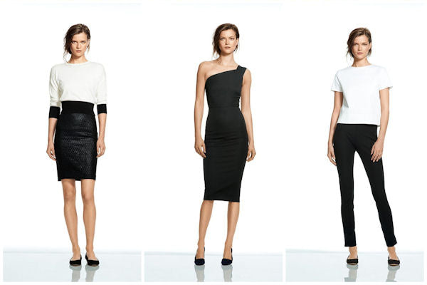The Roland Mouret Banana Republic Collaboration features chic, elegant and streamlined looks.