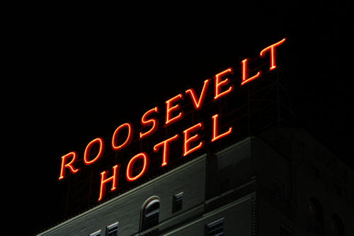 The Roosevelt Hotel, Hollywood