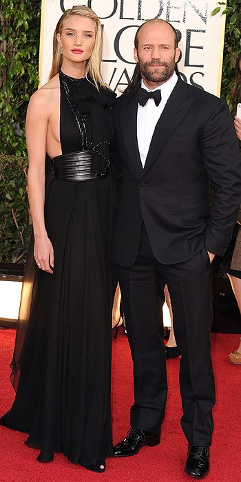 2013 Golden Globes - Rosie Huntington-Whiteley was also in black
