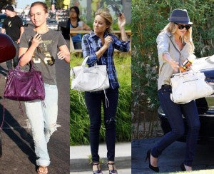Hayden Panetierre and Lauren Conrad love the Motorcycle Bag