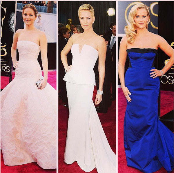 2013 Academy Awards Red Carpet - Understated elegance was the message of the night