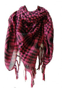 Stylish Plaid Patterned Spring Scarf
