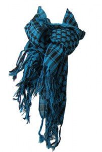 The stylish plaid patterned spring Scarf