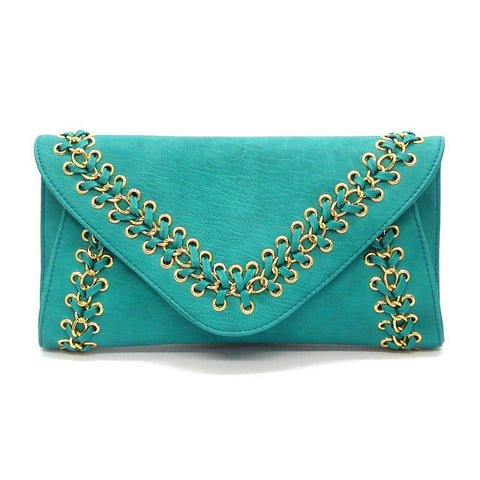 "The Turquoise ""Eva"""" Clutch"