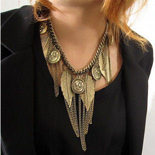 "The ""Brier"" Bib Necklace"