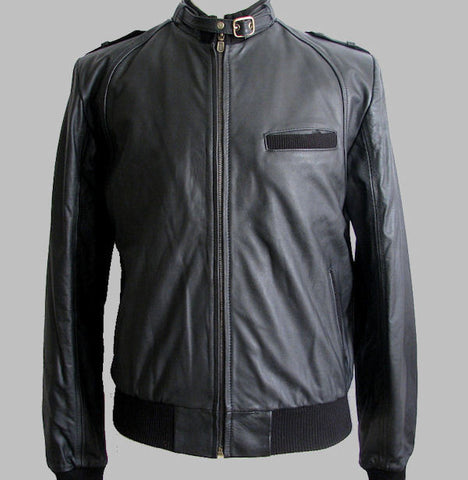 The Men's Motorcycle Leather Jacket