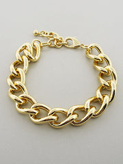"The ""Mia"" Chunky Gold Links  Bracelet"