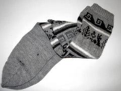 Chic Hand Woven Winter Socks