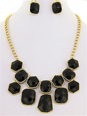 "The ""India"" Statement Necklace and Earring Set"