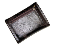 Deep Chocolate Brown Leather Wallet