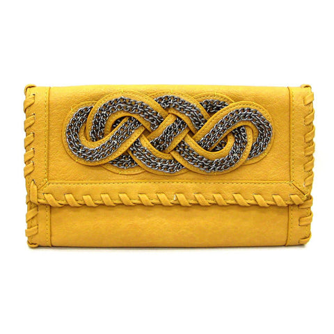 "The Mustard ""Ansley"" Clutch"