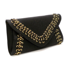 "The Black ""Eva"""" Clutch"