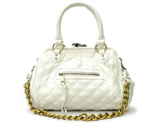 "The Daytime and Evening Quilted White ""Ana"" Bag"