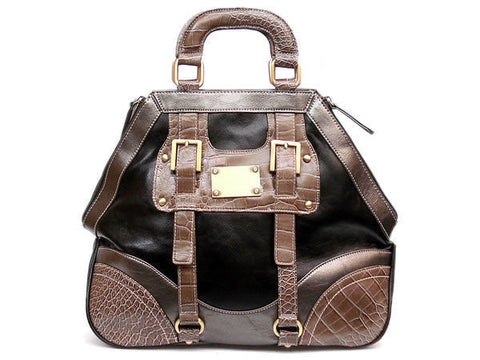 "The ""Sheba"" Hexagonal Handbag"