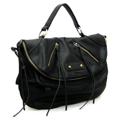 "The Black ""Regan"" Motorcycle Bag"