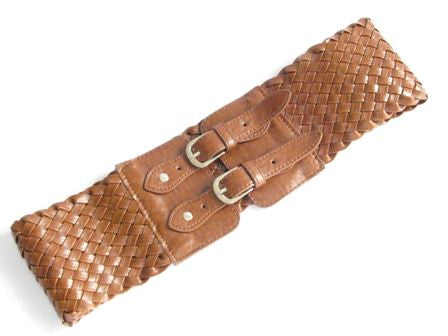 "The Brown ""Zanna"" Interwoven Belt"
