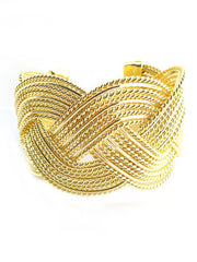 The Gold Woven Cuff