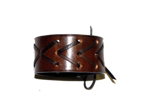 "The Brown ""Andria"" Leather Bracelet"