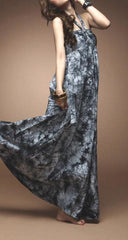 "The ""Ella"" Marble Print Maxi Dress"