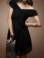 "The ""Eveline"" Romantic Chiffon Dress"