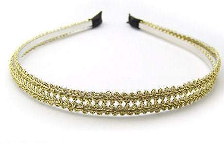 "The ""Arabella"" Double Strand Headband"